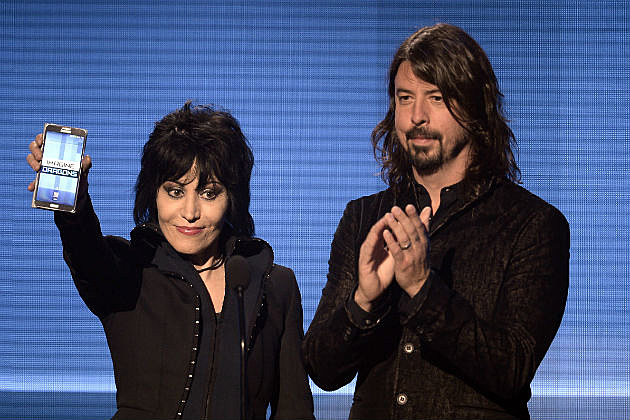 Dave Grohl And Joan Jett