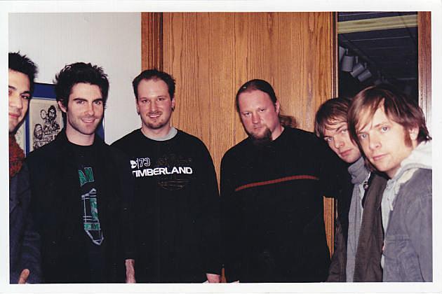 Rob with Maroon 5