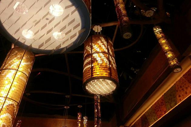 Mohegan Sun light fixtures