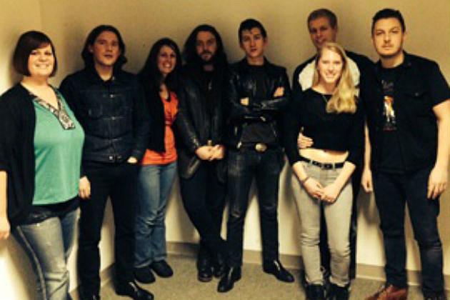 Arctic Monkeys with CYY winners