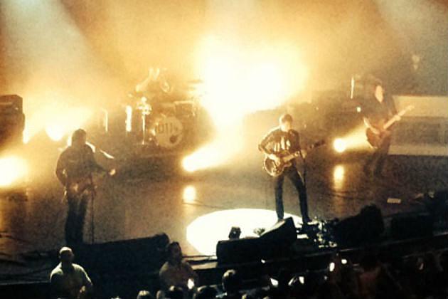 Arctic Monkeys on stage 3
