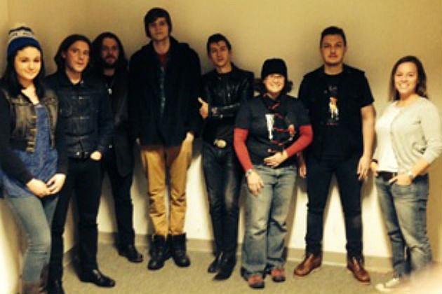 CYY winners with Arctic Monkeys
