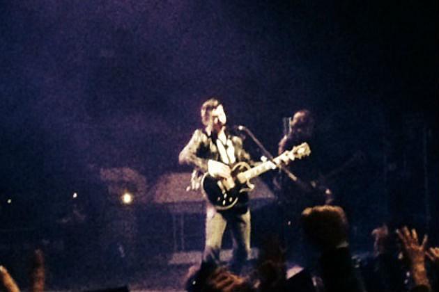 Arctic Monkeys on stage