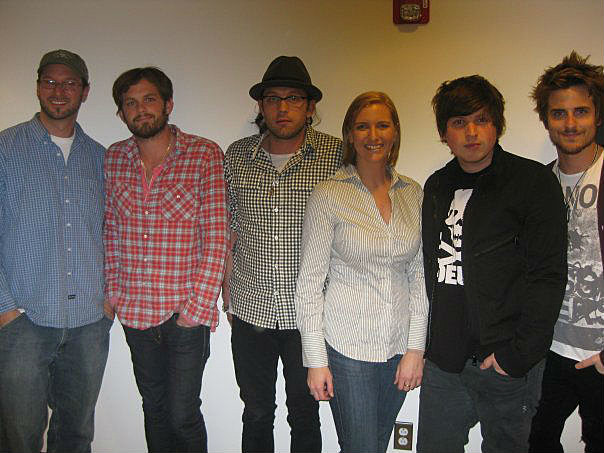 Rob, with Kings Of Leon