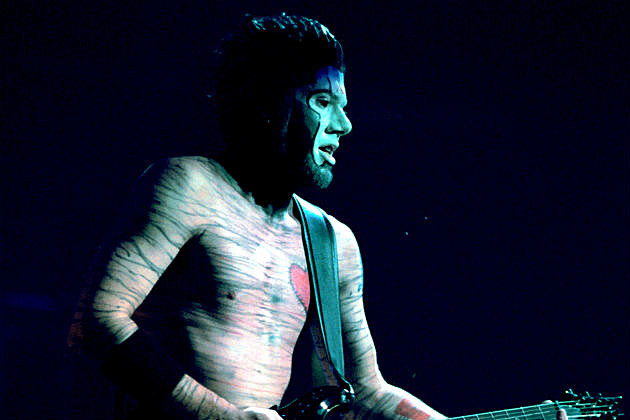 Wes Borland on stage