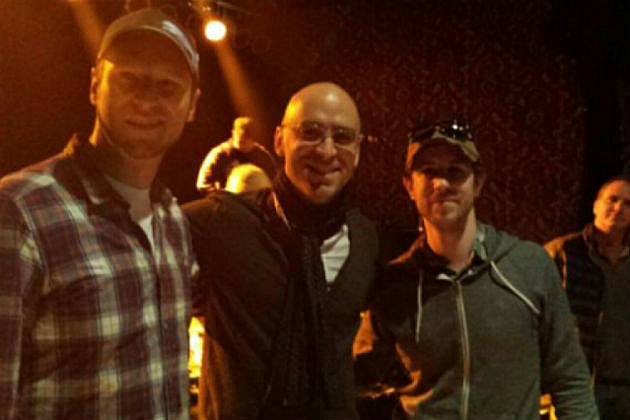 Rob and his buddy with Ed Kowalczyk