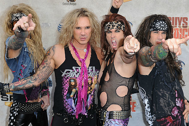 Steel Panther band shot