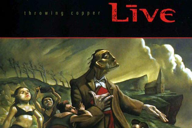 Live - Throwing Copper album cover