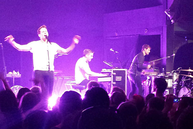 Foster the People on stage