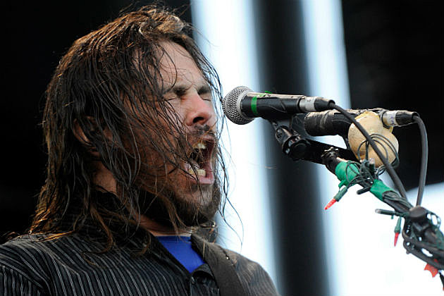 Shaun Morgan of Seether on stage
