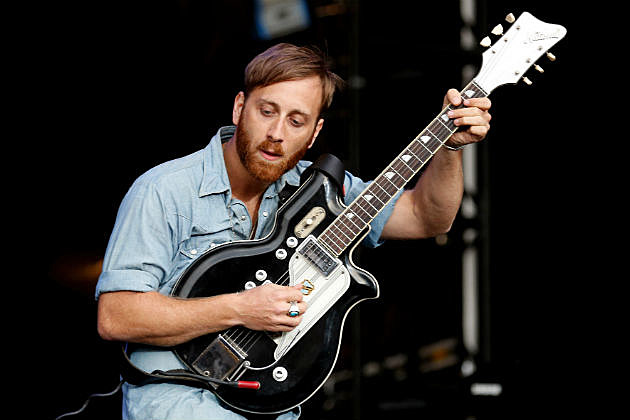 Dan from the Black Keys on stage