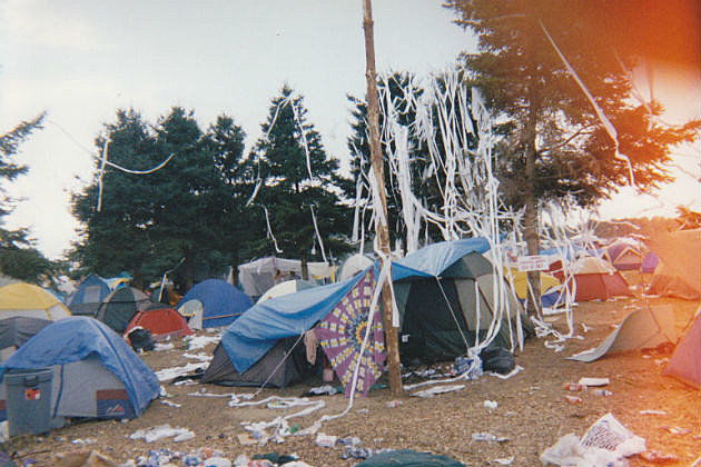 Woodstock '99 camp site