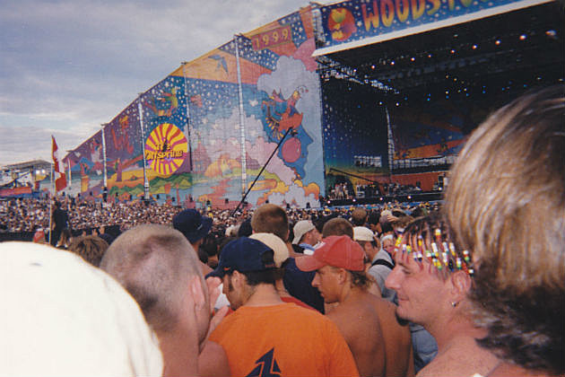 Woodstock stage view