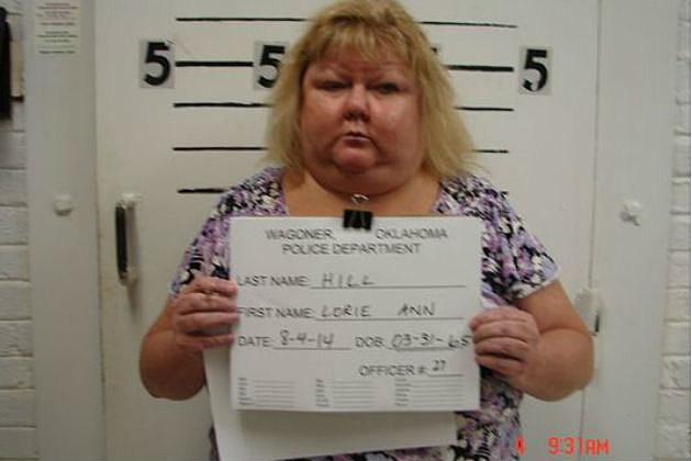 Lori Hill Mug shot