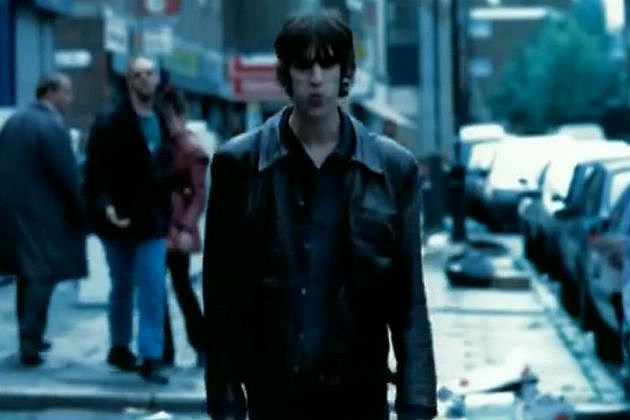 "Richard Ascroft in the Verve ""Bittersweet Symphony"" video."