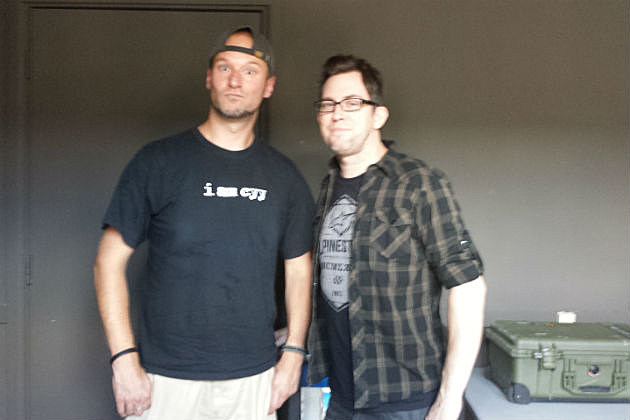 Rob with Sam from Chevelle